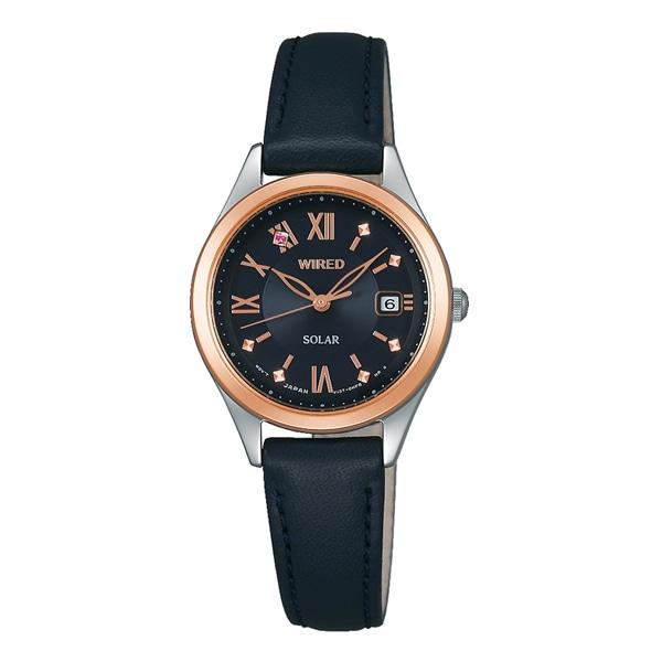 e0c7606c96 WIRED f ワイアード エフ SEIKO セイコー PAIR STYLE ペア・スタイル ソーラー TiCTAC別注 腕時計 レディース