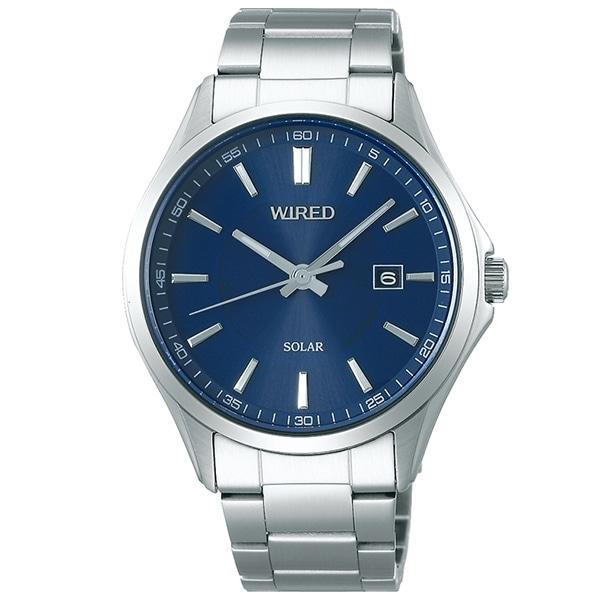9bfb549d7a セイコー ワイアード SEIKO WIRED 腕時計 メンズ ソーラー ニュースタンダード AGAD404