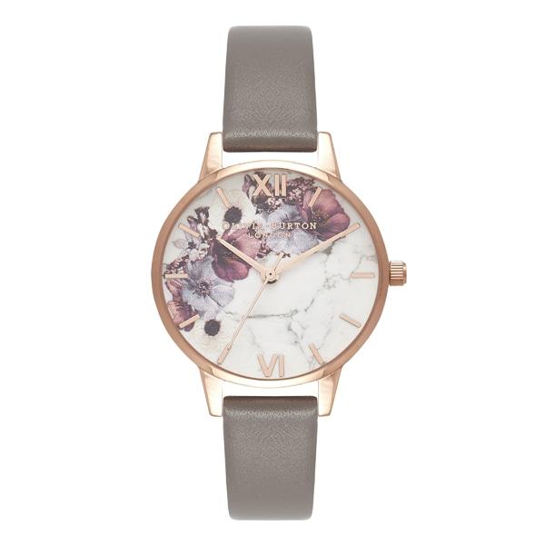 Olivia Burton オリビアバートン Marble Florals マーブルフローラル 腕時計
