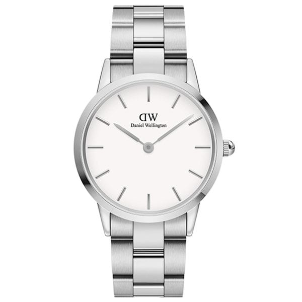 Daniel Wellington ダニエル・ウェリントン ICONIC LINK 36mm Silver White 腕時計 DW00100203
