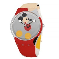 "SWATCH <br>""MIRROR SPOT MICKEY ""<br>19999本限定★"