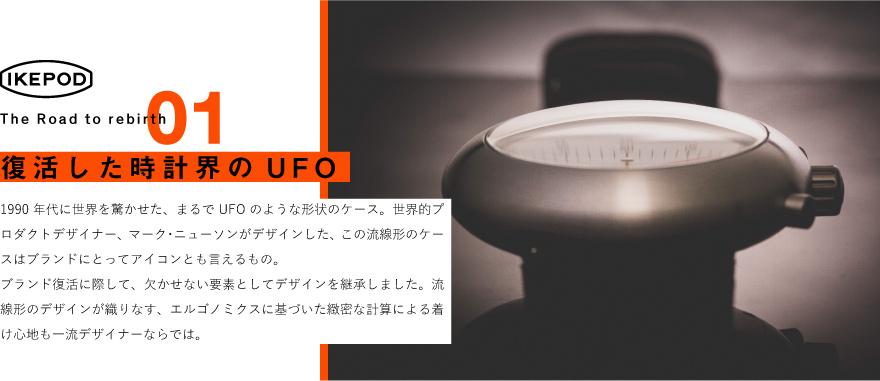 IKEPOD 復活した時計界のUFO