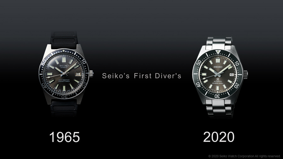 Seiko's First Diver's
